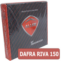 Kit Relação Da Dafra Riva 150 Aço 1045