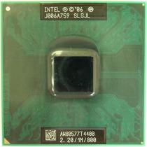 Processador Intel Dual-core Mobile T4400 2,2 Ghz/1m/800 Slgj
