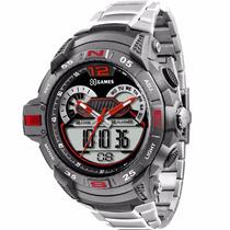 Relógio X-games Anadigi Xmpsa027 - Promoção Garantia E Nf