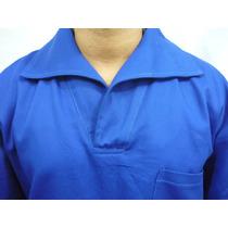 Jaleco Camisa Brim Uniforme Profissional Mecânico Pedreiro
