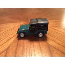 Jeep Willys Verde Miniatura