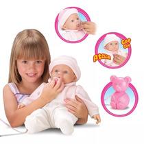 Boneca Bebe Interactive Baby Inalação Roma Brinquedos