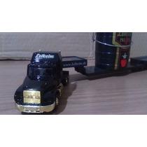 Caminhão Carreta Prancha Miniatura 1/87 Coleção