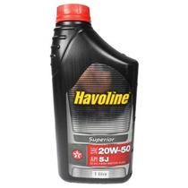 Óleo Motor Havoline Mineral 20w50 Api Sj Sae