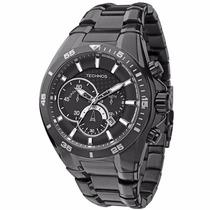 Relógio Technos Carbon Os20ih/1p - Garantia E Nf