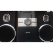 Aparelho De Som Philipis Cd/radio Com Duas Caixas De Som