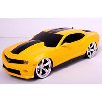 Camaro Amarelo Controle Remoto, Recarregável