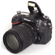 Camera Dslr Nikon D7100 Lente 18-105mm Af-s Dx