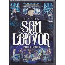 Dvd Som E Louvor - Dupla Honra - Ao Vivo   Frete Grátis
