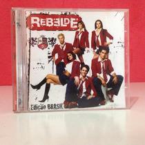 Cd Rbd - Rebelde - Edição Brasil