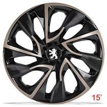 Calota Aro 15 Esportiva Gold Ds4 Peugeot 206 207 Hoggar 5119