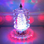 Lustre Mágico Led Cristal Iluminação Decoração E Festa 17cm
