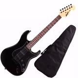 Guitarra Mod Fender Tagima Memphis Mg32 Cor Preta Com Preto