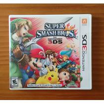 Super Smash Bros 3ds - Nintendo 3ds - Impecável !!!