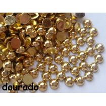 Meia Perola Chatons Chaton Dourado (1,5mm) 1gr