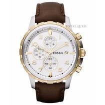 Relógio Fóssil Fs4788 Garantia De 2 Anos + Nf + Brinde!!!
