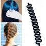 Trança Fácil Acessório P/ Fazer Trança=cabelo + Frete Grátis