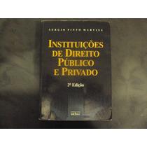 R/m - Livro Instruções De Direito Publico E Privado - Sergio