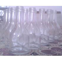 100 Mini Garrafinhas De Vidro Champanhe 50ml