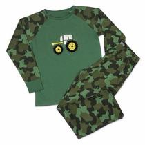 Pijama Malha Para Menino Criança Infantil Cama 4 6 8 10 Anos