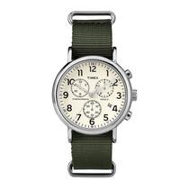 Relógio Timex Style Weekender Tw2p71400ww/n - Prata / Pul...