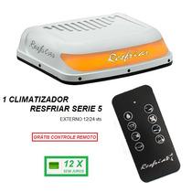 Climatizador Caminhão Resfriar Serie 5 Com Controle Remoto