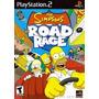Patch Jogo Ps2 Simpsons Road Rage Frete Grátis