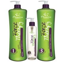 Floractive Kit Escova De Cristal Shampoo+total Brushing {100