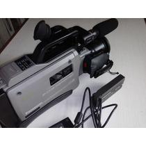 Filmadora Profissional Panasonic S-vhs Repórter 456