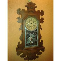 Inacreditável: Ansonia Berkeley Walnut Clock - New York/1894