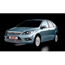 Kit Sobre Grade Cromo Aço Inox Filetada Ford Focus 10/...