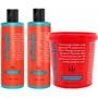 Kit Creoula - Shampoo, Condicionador E Creme De Pentear 930g