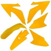 Kit Plastico Carenagem Crf 230 - 2008 Á 2014 - Amarelo