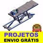 Projeto Elevador Moto + Frete Grátis