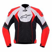 Jaqueta Alpinestars T-gp R Air Vermelha/preta/branca Tam M