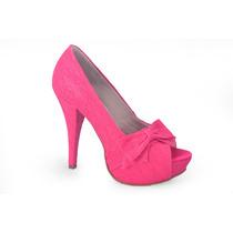 Peep Toe, Sapato Pink Ideal Para Noivas! Lindo!!!