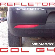 Refletor Para-choque Gol Geração 4 G4+ Frete Grátis