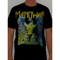 Camiseta Manowar - Battle Hymns