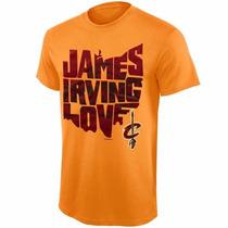 Camiseta Lebron James, Kevin Love, Kyrie Irving - M / G