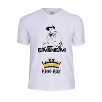 Camisas Eminem Rap Rapper Banda Cantor Camisetas King Shady