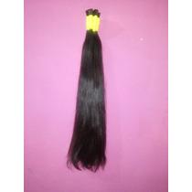 Cabelo Humano Natural P/mega Hair Liso 60 Cm 50 Gramas