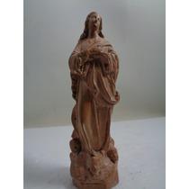 Santo - Nossa Senhora Em Terracota