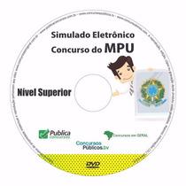 Simulado Online Do Concurso Mpu Nível Superior 2016
