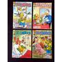 Lote De 4 Revistas Zé Carioca 36 Pgs Editora Abril 2005