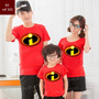 Kit Com 4  Camiseta Os Incríveis Herois Personalizada Ref00