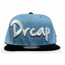 Boné Doutor Cap/drcap Azul/branco Snapback Premium