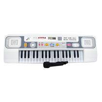 Teclado Piano Musical Infantil Sons Eletronicos Radio 3709a