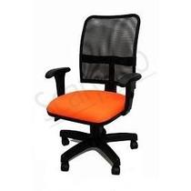 Cadeira Luxo Executiva Com Back System Encosto Com Tela,