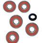 Kit Rolamentos Roda Diant/ Tazeiro C/ret Cg Titan 125 / 150