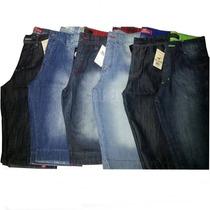 Kit 5 Bermudas Jeans Masculina Atacado - Várias Marcas